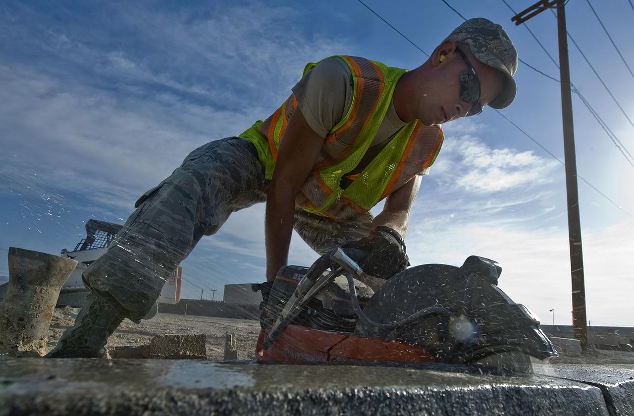 Przecinanie betonu