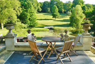 Komfortowy ogród, przyjemny wypoczynek